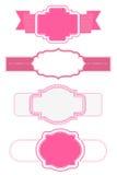Rosa ramar royaltyfri illustrationer