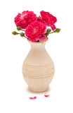 rosa ro för bukett Fotografering för Bildbyråer