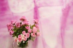 rosa roman Royaltyfria Bilder