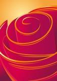 Rosa roxa macia Imagem de Stock