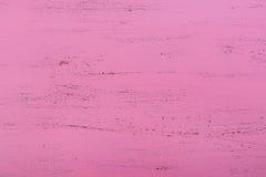 Rosa rustikaler hölzerner Hintergrund Lizenzfreie Stockbilder