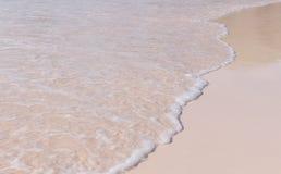 Rosa Sandufer an der Hufeisenbucht, Bermuda Lizenzfreie Stockbilder