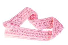 rosa scarf Royaltyfri Bild