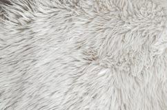 Rosa Schaffellwolldeckenhintergrund Wollbeschaffenheit Lizenzfreies Stockbild