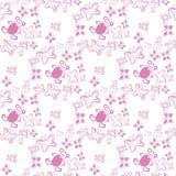 Rosa sem emenda da cor do teste padrão do bebê Imagem de Stock