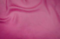 Rosa silk Beschaffenheit backgound Lizenzfreie Stockfotos