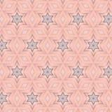 Rosa simples primitivo, teste padrão lilás ilustração royalty free