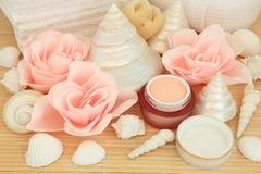 Rosa skönhetSpa Arkivbilder