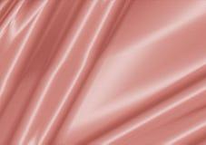 Rosa skinande silkeslen tygbakgrund Royaltyfria Foton