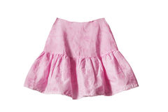 rosa skirt Royaltyfria Bilder