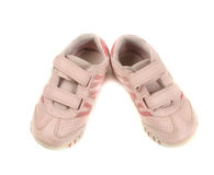 rosa skor Arkivbild