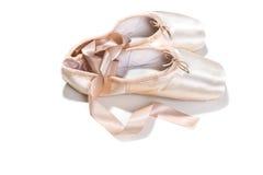rosa skor för balett Royaltyfri Fotografi