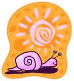 rosa snail Royaltyfri Foto