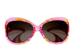 Rosa solglasögon Royaltyfri Bild