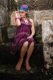 rosa sommar för mode Royaltyfria Foton
