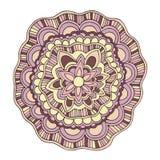 Rosa-Sommerblume des Vektors dekorative Farb Lizenzfreie Stockfotos
