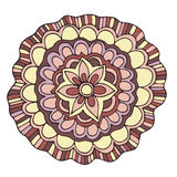 Rosa-Sommerblume des Vektors dekorative Farb Stockfotografie