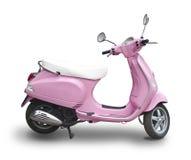 Rosa sparkcykel Fotografering för Bildbyråer