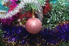 rosa sphereglitter för färg Royaltyfri Foto
