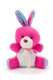 Rosa Spielzeughäschen Stockbild