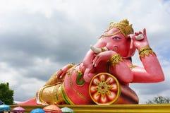 rosa staty för ganesha Royaltyfria Foton