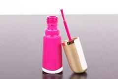rosa sticktabell för lacquer royaltyfria bilder