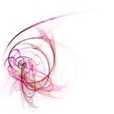 rosa stråle Arkivfoto
