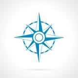 Rosa symbol för vind Arkivfoton