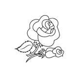 Rosa symbolstecken 03 Arkivfoton