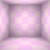 Rosa Tabellenraum - für Anzeige Ihre Produkte Lizenzfreie Stockfotos