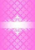 rosa tappning för bakgrund Arkivfoto