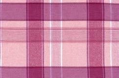 rosa tartan för bakgrund Royaltyfri Bild