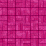 rosa tegelplattor Arkivbild
