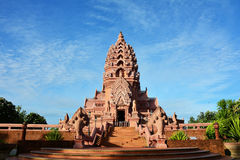 rosa tempel royaltyfria bilder