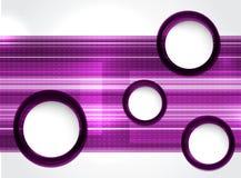 rosa termplate Arkivfoto