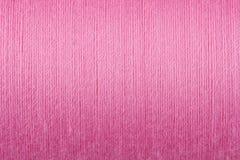 rosa texturtråd för bakgrund royaltyfria bilder