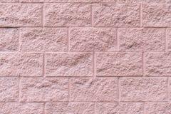 rosa texturvägg för bakgrund Arkivbilder