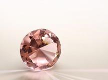 rosa topaz för diamant Arkivbilder