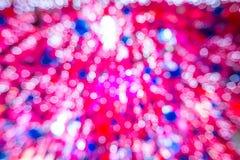 rosa tree för jul Arkivbilder