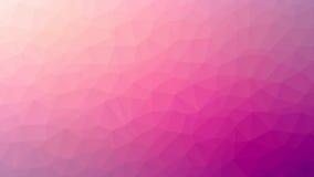 Rosa triangulierter Hintergrund Lizenzfreie Stockbilder