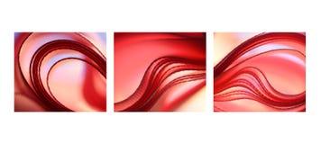 rosa trio Arkivbild