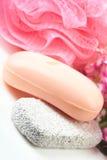 rosa tvål Arkivfoto
