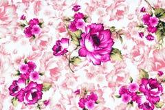 Rosa tyg, rosa tygbakgrund Arkivfoto