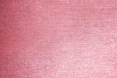 Rosa tygbakgrund, färgrik abstrakt textur royaltyfria foton