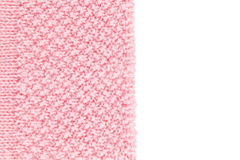 Rosa ull texturerad bakgrund arkivfoton