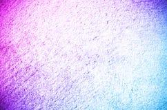 Rosa und blauer Farbezementbetondecke-Zusammenfassungshintergrund Lizenzfreie Stockfotos
