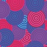 Rosa und purpurrote Kreise Stockfoto