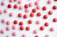 Rosa und roter Valentine Chocolate Stockfotografie