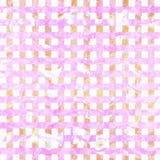 Rosa und weißer abstrakter Musterkunsthintergrund des Schmutzes Lizenzfreie Stockfotos