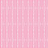 Rosa- und weißesabstraktes Muster Lizenzfreie Stockfotos